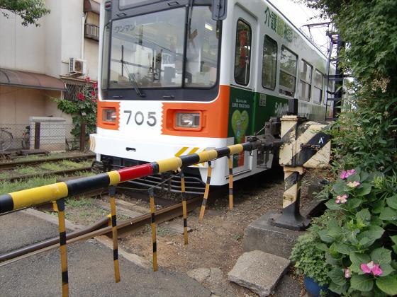 阪堺電車がゆく2012-08