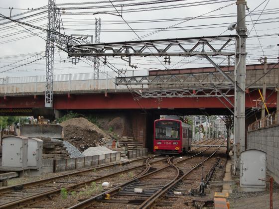 阪堺電車がゆく2012-09