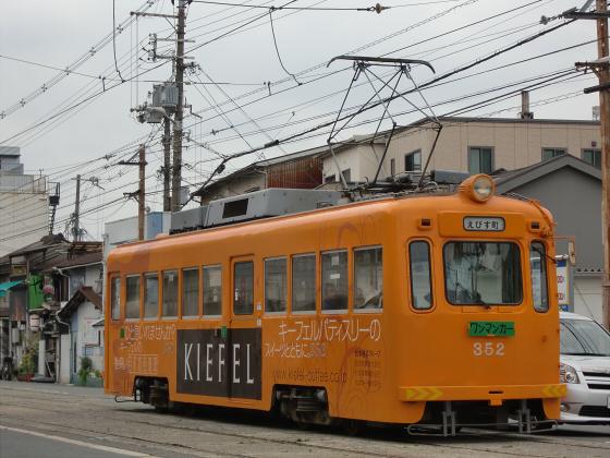 阪堺電車がゆく2012-10