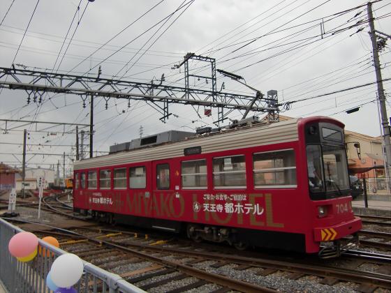 阪堺電車がゆく2012-12