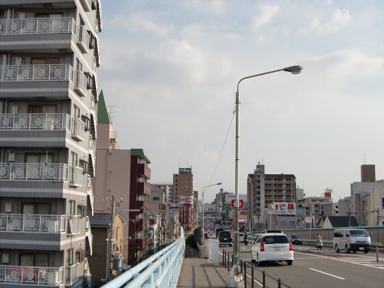 放出駅周辺2012-02