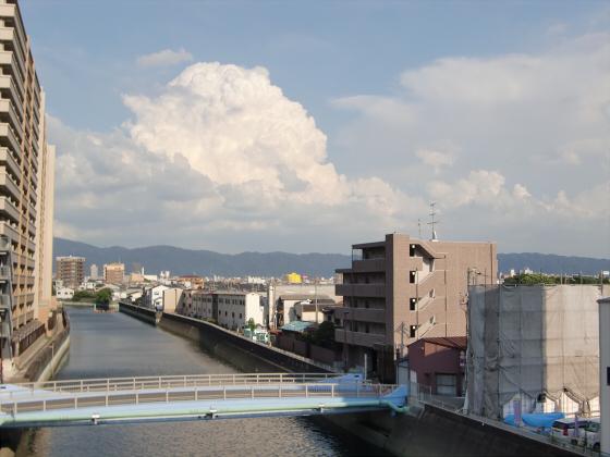 放出駅周辺2012-04