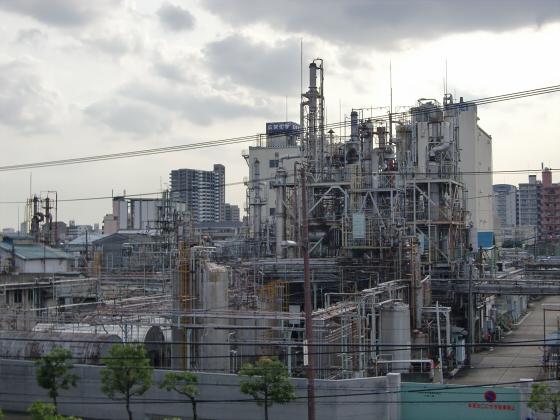 放出駅周辺2012-06