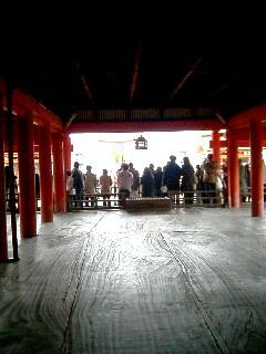台風後厳島神社05
