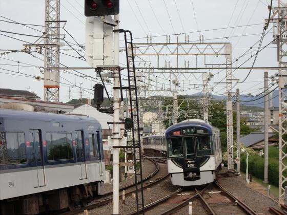 鞍馬・貴船へ行った時の京阪電車09