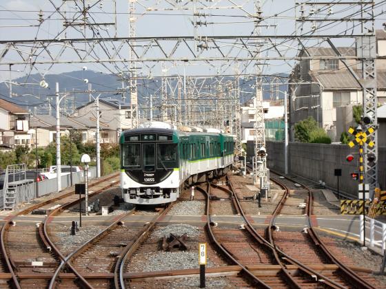 鞍馬・貴船へ行った時の京阪電車11
