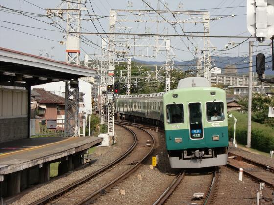 鞍馬・貴船へ行った時の京阪電車12