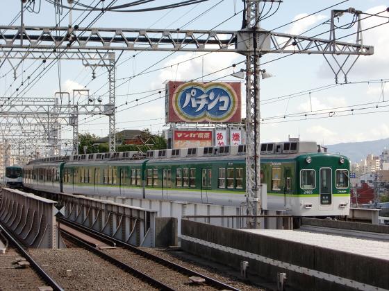 旧3000系特急車撮りに京橋へ13