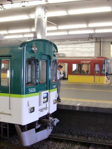 旧3000系特急車撮りに京橋へ17