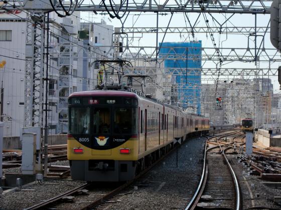 旧3000系特急車撮りに京橋へ19