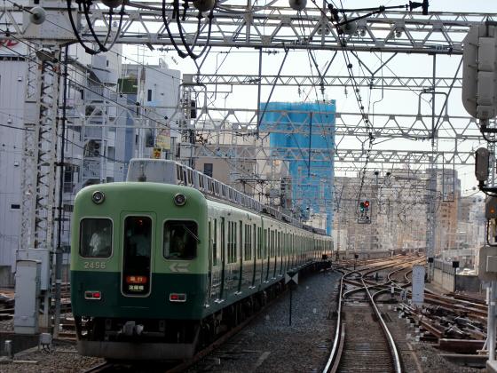 旧3000系特急車撮りに京橋へ22