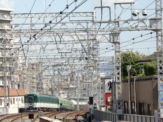 旧3000系特急車撮りに京橋へ27