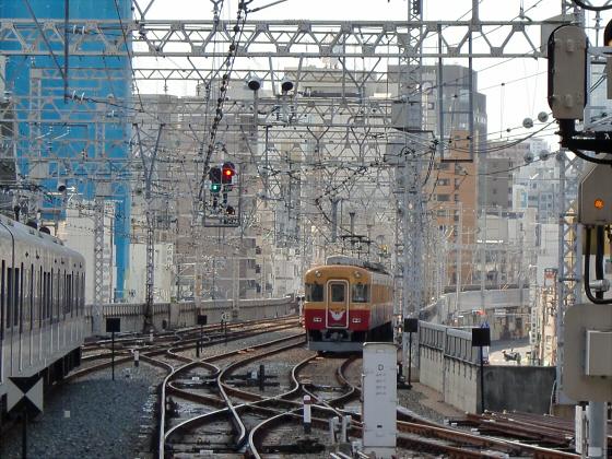旧3000系特急車撮りに京橋へ30