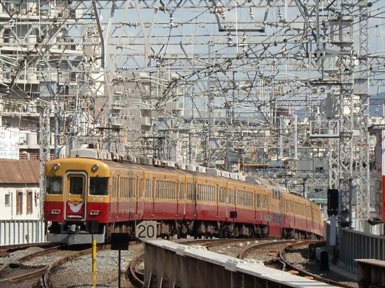 旧3000系特急車撮りに京橋へ34