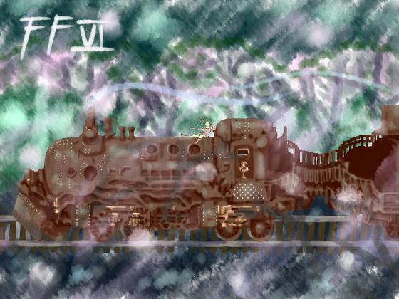 魔列車で逝く