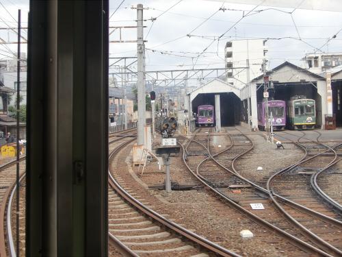 嵐電走行中2012秋03