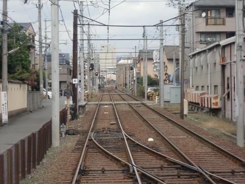 嵐電走行中2012秋04