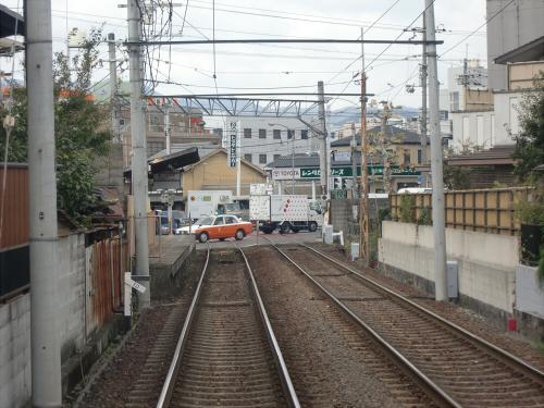 嵐電走行中2012秋05