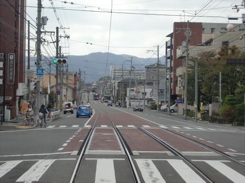 嵐電走行中2012秋09