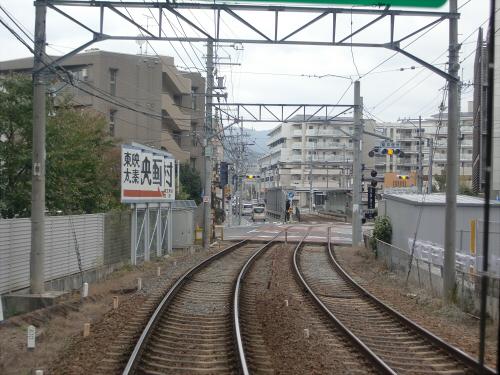 嵐電走行中2012秋12