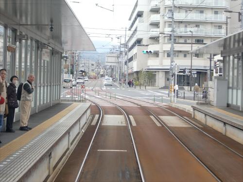 嵐電走行中2012秋13
