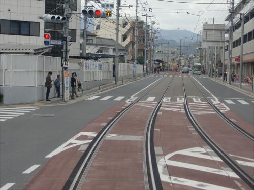 嵐電走行中2012秋15