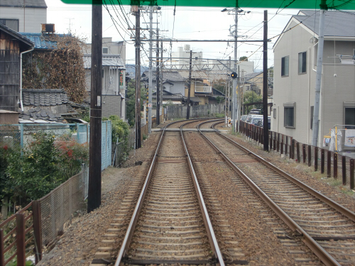 嵐電走行中2012秋17