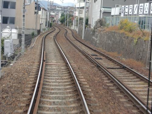 嵐電走行中2012秋22