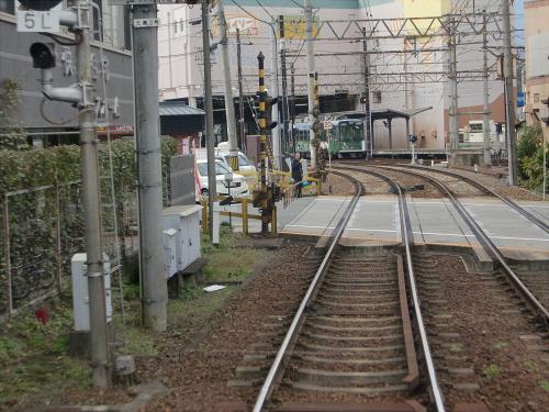 嵐電走行中2012秋24