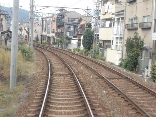 嵐電走行中2012秋27