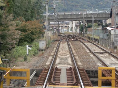 嵐電走行中2012秋32