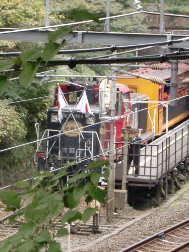 嵯峨野トロッコ列車04