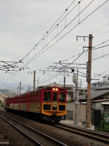 嵯峨野トロッコ列車08