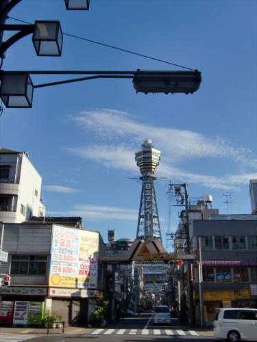 通天閣・新世界近辺2012-01