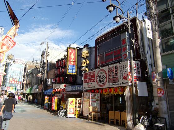 通天閣・新世界近辺2012-08