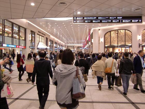 エキマルシェ大阪とか阪急の増床とか12