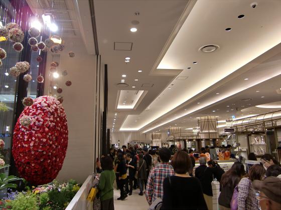 エキマルシェ大阪とか阪急の増床とか16