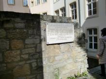 ルクセンブルグ城壁の跡
