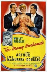 「Too Many Husbands」ポスター