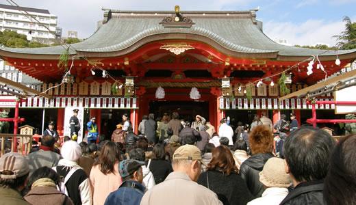 生田神社初詣2014-1