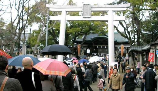 石切神社初詣2014-3