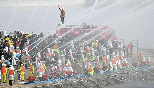 神戸市消防出初式2014-4
