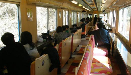 伊勢神宮初詣 観光列車つどい-2