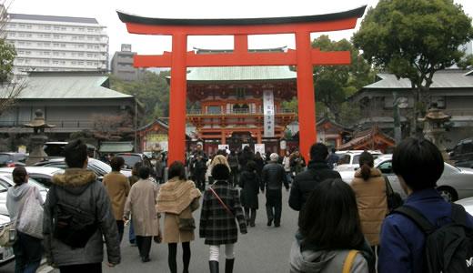 生田神社 節分祭2014-1