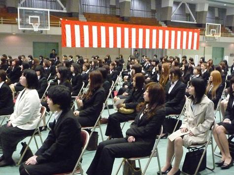 入学式2012-2