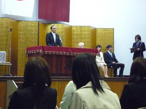 入学式2012-4