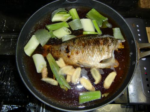 ギンブナの甘露煮