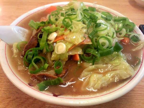 豚菜ラーメン12.5.29