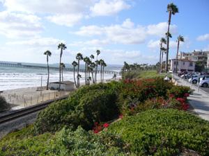 San Clementeの海岸 その1