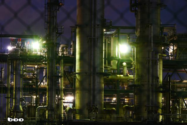 松山の工場